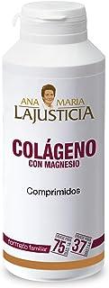Ana María Lajusticia - Colágeno con magnesio – 450 comprimidos articulaciones fuertes y piel tersa, Regenerador de tejidos con colageno hidrolizado tipo 1 y tipo 2, Envase para 75 días de tratamiento