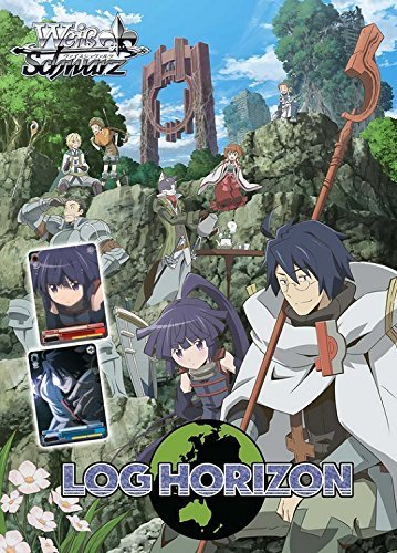 Weiss Schwarz TCG Card Game - LOG HORIZON Starter Trial Deck English Version - 50 cards by Weiss Schwarz
