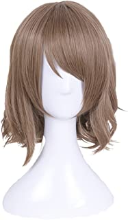 SUNCOS LoveLive ! Sunshine ! Aqours Full Hair Female Woman Party Cosplay Wig (Watanabe You) Brown