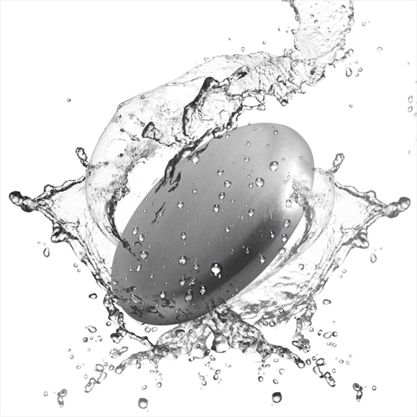 失敗しわ切断するRefoiner ステンレス製品 ソープ 実用的な台所用具 石鹸 魚臭 玉ねぎやニンニク 異臭を取り除く 2個