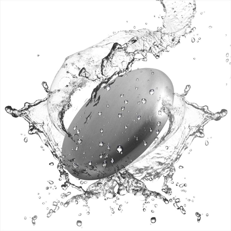 Refoiner ステンレス製品 ソープ 実用的な台所用具 石鹸 魚臭 玉ねぎやニンニク 異臭を取り除く 2個