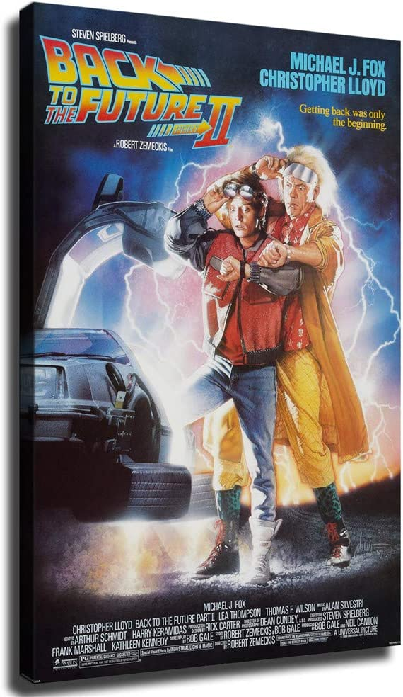 70% OFF Outlet movie posters back to the future Art Canvas Spring new work one after another Prints Wall Pictures