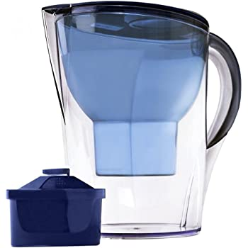 Lake Industries The Alkaline Water Pitcher - 3.5 Liters, Free Filter Included, 7 Stage Filteration System to Purify and Increase PH Levels