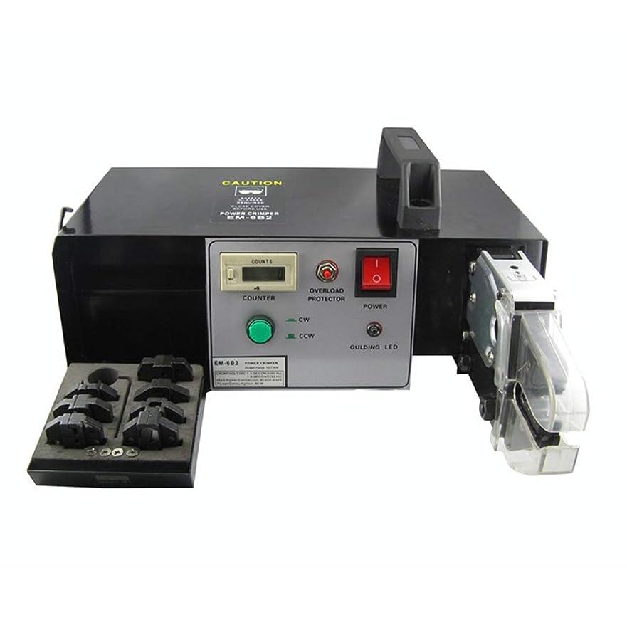 家事雑多な粘液ペンチ 圧着工具 絶縁被覆付 自動電気ひだが付く機械、取り替え可能なダイセットが付いている固定速度モーターによって運転される200-230V