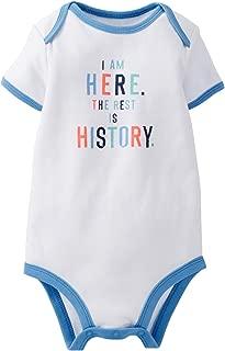 Carter's Baby Boys' Slogan Bodysuit (111a483)