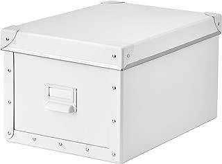 IKEA.. 603.956.83 Fjälla Storage Box with Lid, White