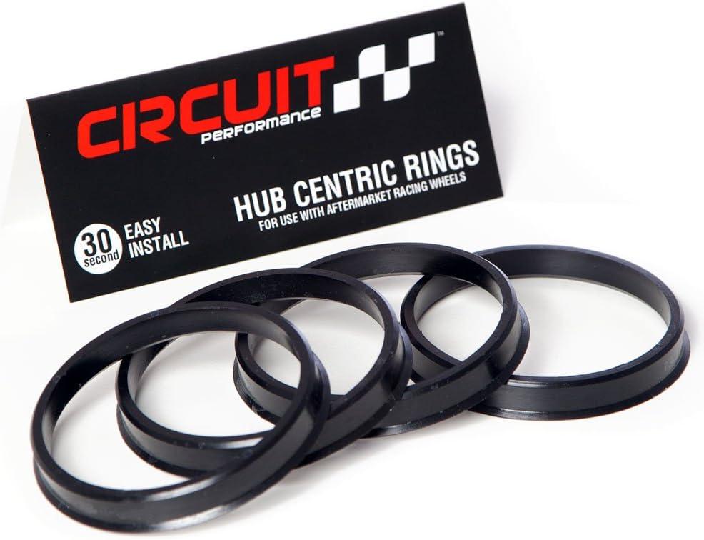 Circuit Performance 73.1mm OD to 65.1mm ID Black Plastic Polycar