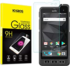 Khaos for SONIMXP8(XP8800) Tempered Glass Screen Protector, Scratch Resistant, Bubble Free