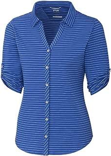 Cutter Women's E/S Academy Stripe