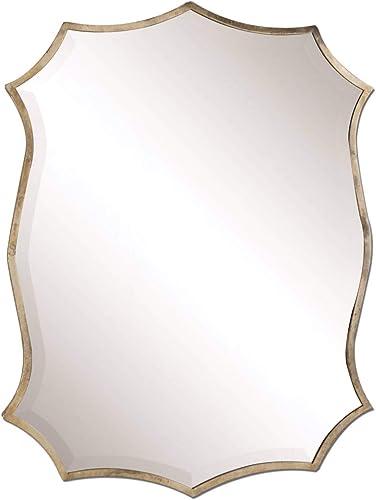 lowest Uttermost 12842 lowest Migiana Metal Framed Mirror, sale Gold outlet sale