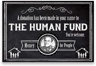 seinfeld human fund card