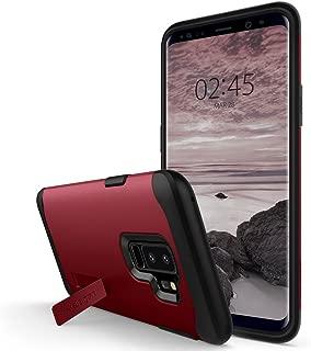 Capa para Galaxy S9 Plus Slim Armor, Spigen, Capa Anti-Impacto, Vermelho