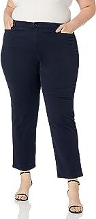 GLORIA VANDERBILT womens Amanda Ponte Knit Pant Pants