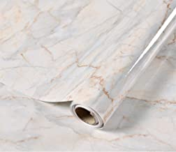 Taogift Papel Pintado de Vinilo de mármol Ligero Autoadhesivo Impermeable para Muebles de Cocina, armarios de Mesa, Parede...
