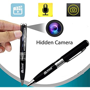 m mhb Spy Pen Camera, Support 32gb Memory with Rechargeable Built in Batter with Video Recording and HD Voice Quality
