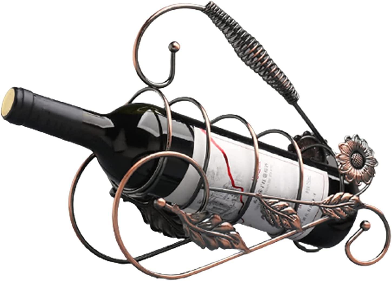 Ghlevo Popularity Wine Rack Bottle Holder Austin Mall C Furnishing Stand Art Metal