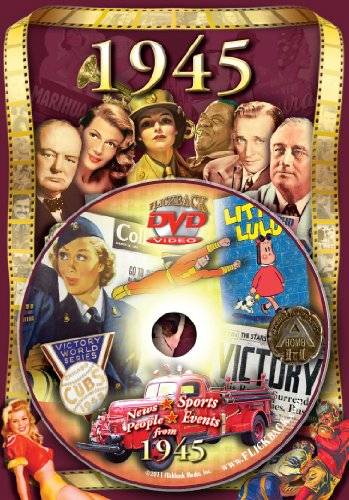 1945 Flickback DVD Greeting Card: Great Birthday or Anniversary