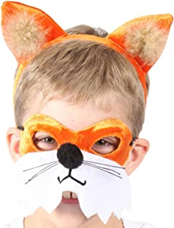Fox Headband And Mask Set One Size