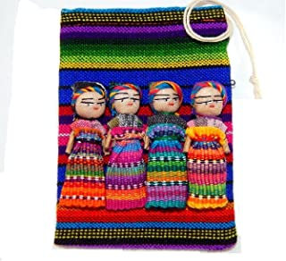 Worry Dolls Large Pouch Contains 4 2