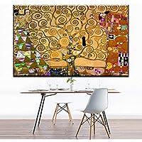 Canvas y lienzos Artists Works The Tree of Life Cuadros de Pared para Sala de Estar Las Pinturas Lienzo Pintura Impresiones en Lienzo Sin Marco 60x90cm