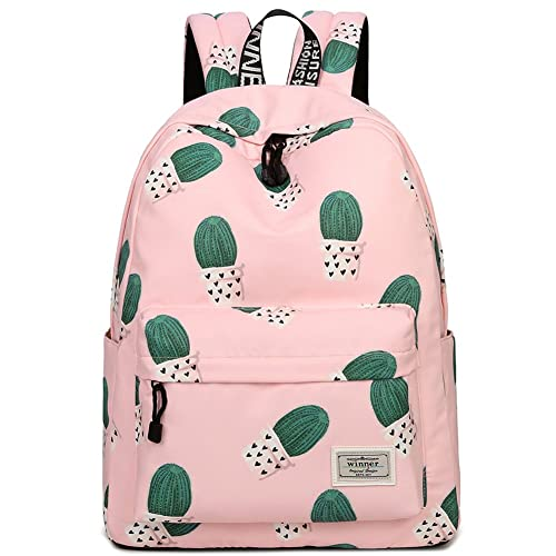 406e7e0c0b Cactus School Backpack Book Bag for Teenage Girls Boys