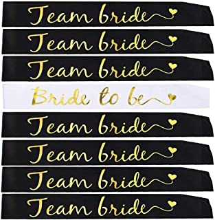 Bachelorette Party Sashes for Bridal Party - Bride to Be Sashes Bridal Shower Sash Favors Gift