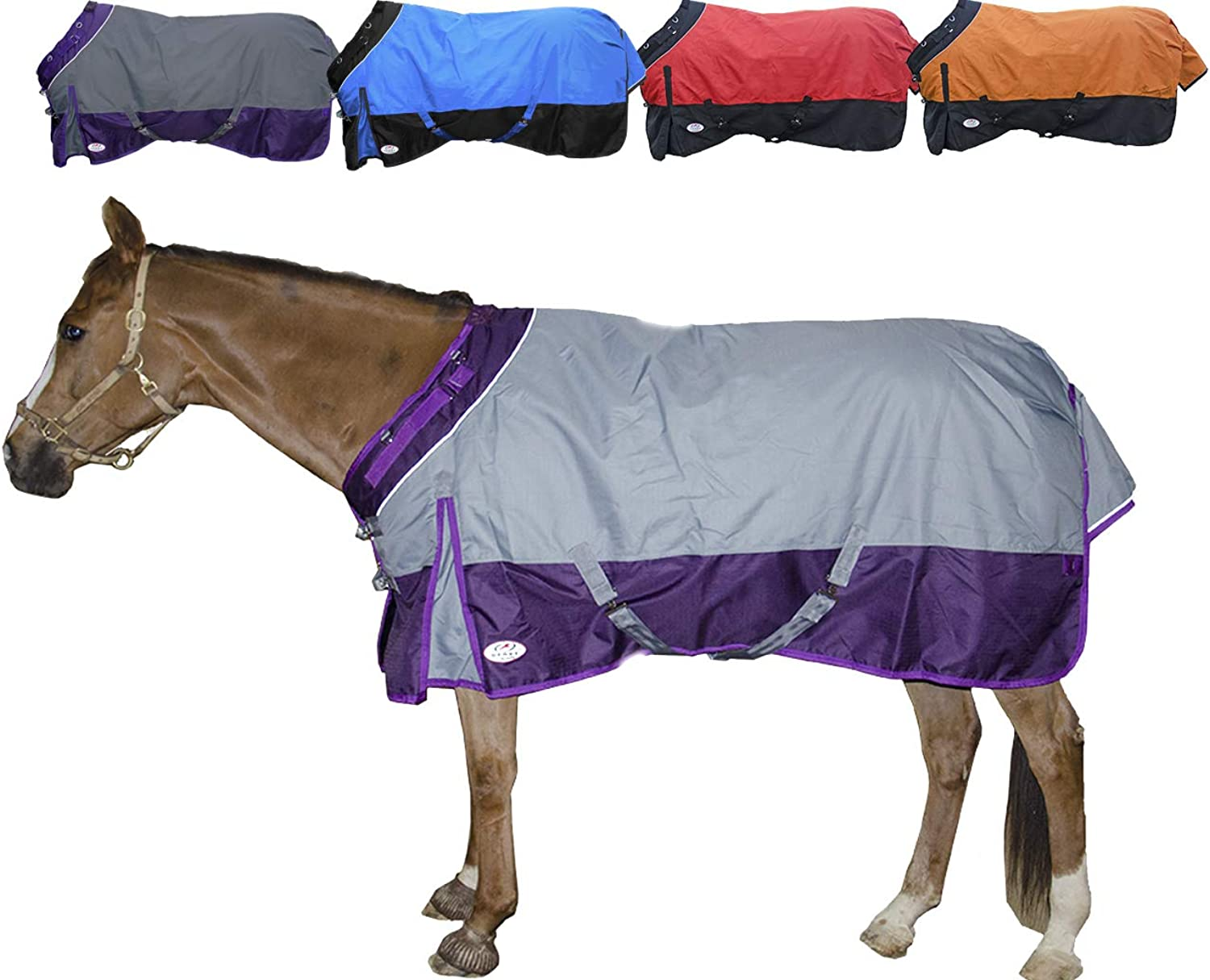 Derby Originals 1200D Windstorm Series Breathable Ripstop Nylon Heavyweight Horse Turnout Blanket