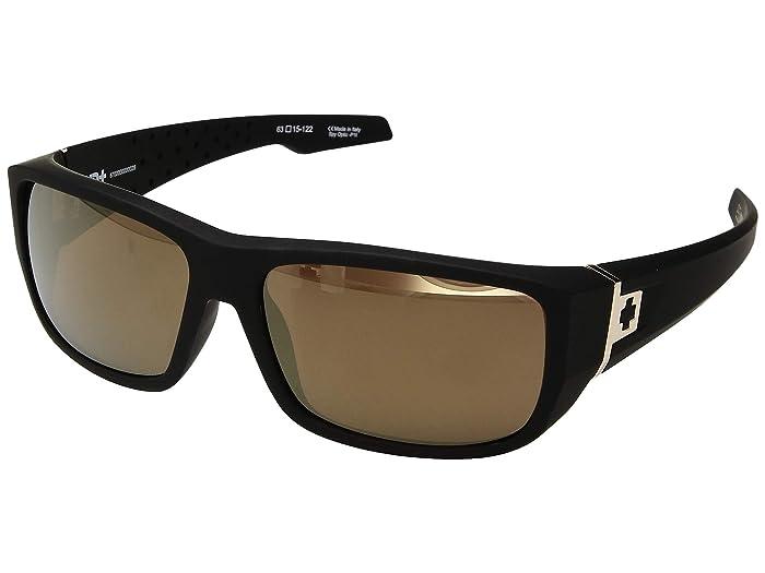 Spy Optic MC3 (25th Anniv Matte Black Gold/HD Plus Bronze/Gold Spectra) Athletic Performance Sport Sunglasses