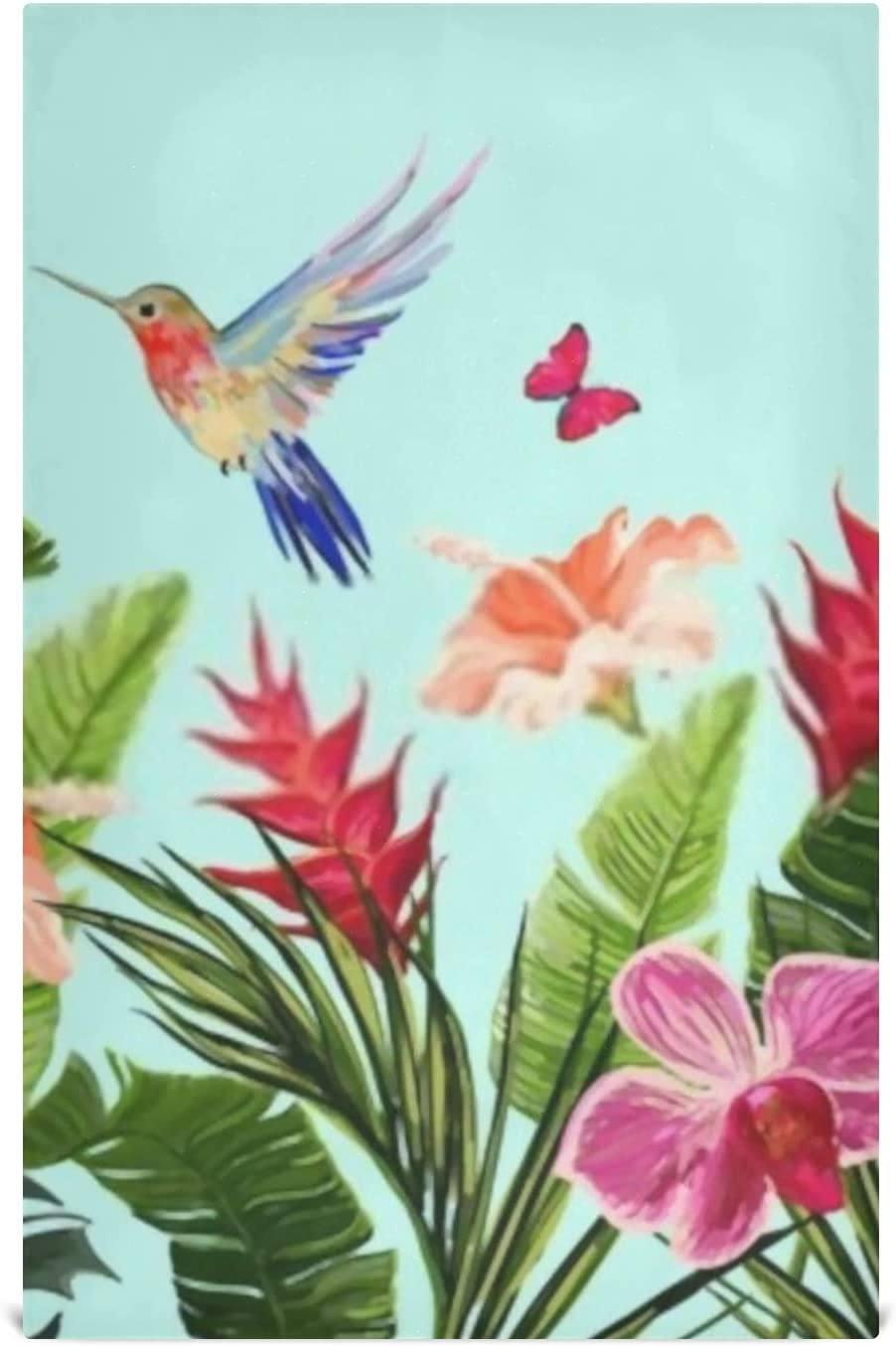 HJSHG Kitchen Ranking TOP16 Dish Towel Set Large 6 Floral Max 46% OFF Summer