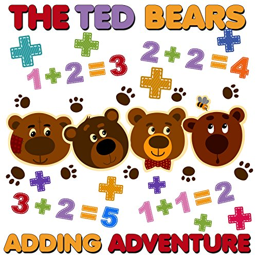 The Ted Bears Adding Adventure cover art