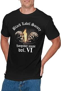 Mens Particular Black Label Society T Shirt Black