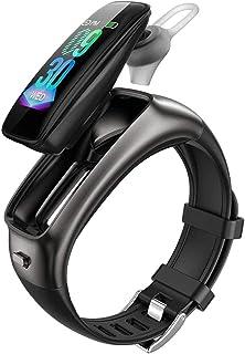 """hwbq Smart Watch 0.96"""" High-Definition Touch Color Screen Bluetooth Muziek Headset Twee-in-één Sport Stappenteller Informa..."""