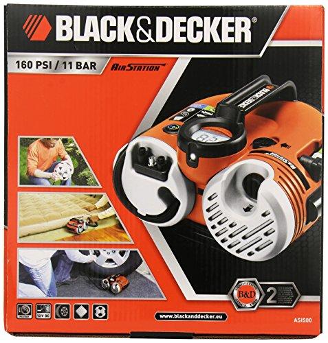 Black und Decker ASI500 Akku Kompressor - 2