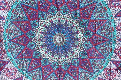 Tapiz bohemio pared hecho mano diseño mandala estilo