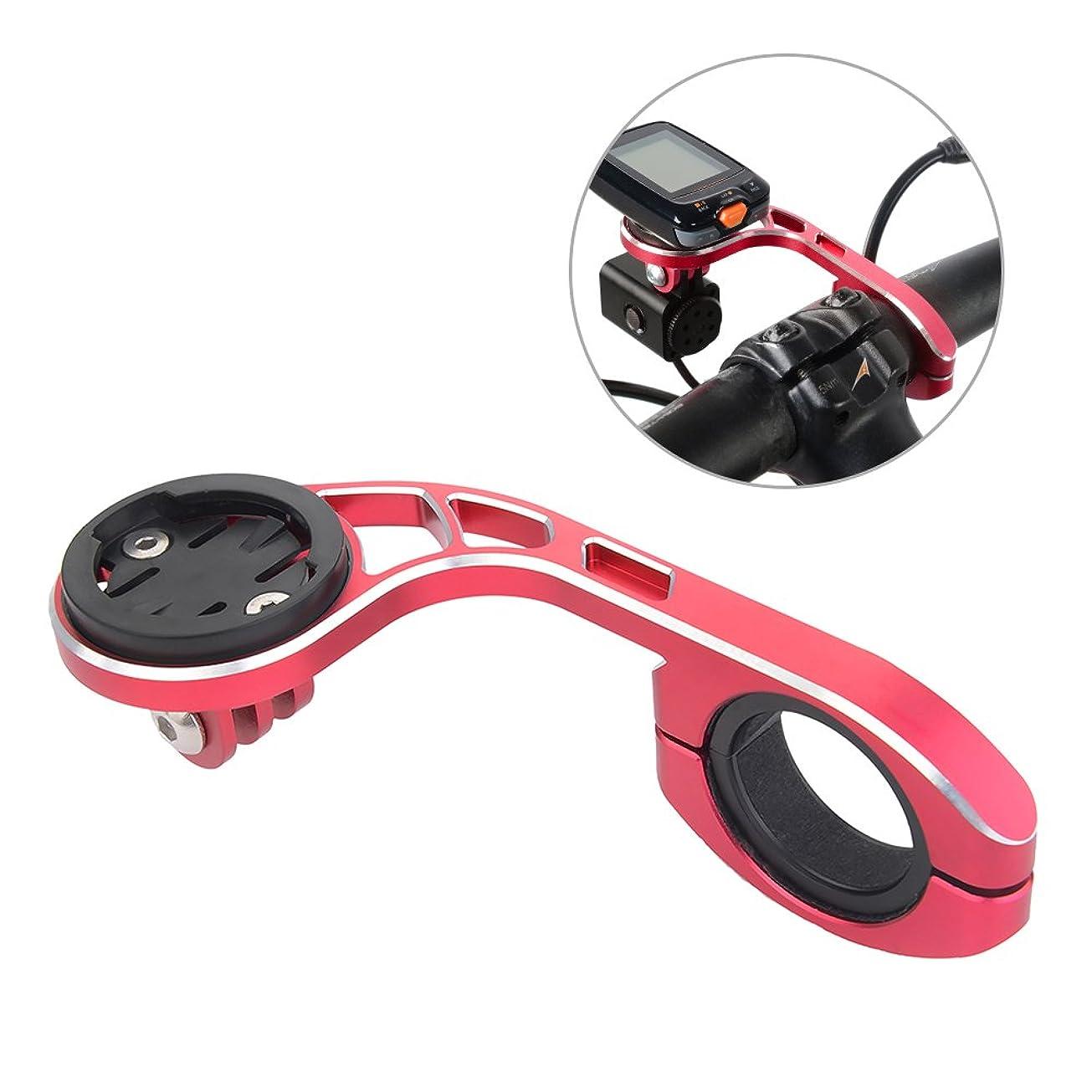 簡単に怒ってオートメーションLIXADA サイクルコンピュータ用ブラケット アウトフロントブラケット BRYTON(ブライトン)とGarmin(ガーミン)に適用 31.8と25.4mm ライトアダプター 自転車コンピュータマウント フロントバイクマウント