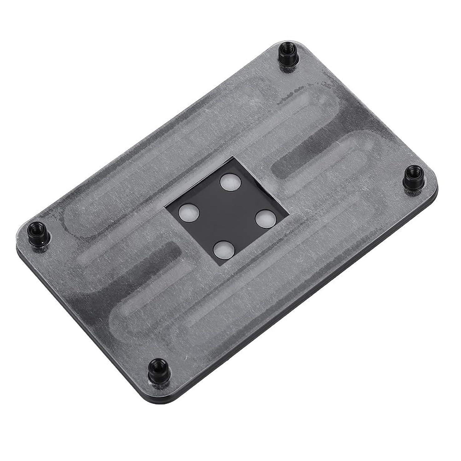 Wendry CPU Heatsink Bracket, Made of Iron, Black Backplane Bracket for AM4