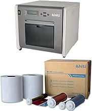 HiTi P525L Compact Dye Sub Photo Printer - With HiTi 4x6 Media for Photo Printer P520 & P520L