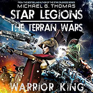Warrior King  audiobook cover art