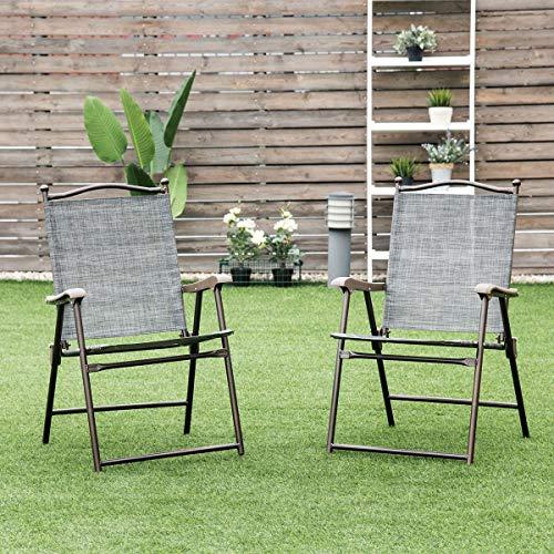 Slingback Patio Chairs by Giantex