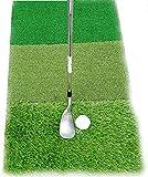 NAIZEA Golf Mats Golf Hitting Mats Practice Mats Rubber Tee Holder, Driving Chipping Putting Golf...