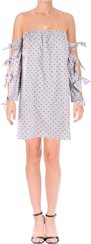 CeCe by Cynthia Steffe Womens Kellen OffTheShoulder Mini Dress bluee 4