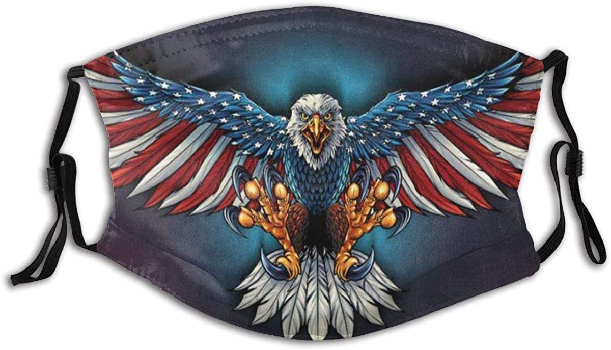 Eagle with Us Flag Wings Memphis Regular dealer Mall Bald Patriotic Spread Animal USA