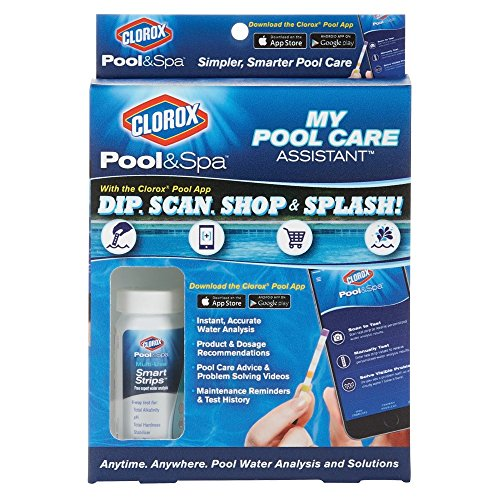 CLOROX Pool&Spa 71025CLX My Pool Care Assistant, Blue