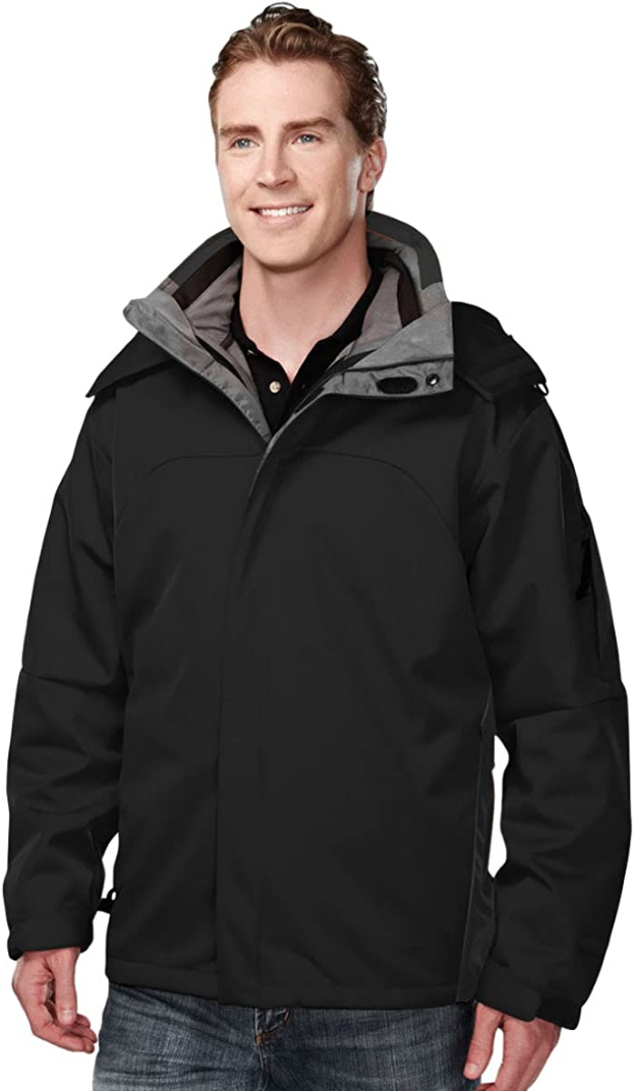 Men's Windproof/Water Resistant 3-in-1 Bonded Shell Washington Jacket (5 Colors)