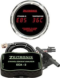 Zeitronix Ethanol Content Analyzer ECA-2 Kit Red Fuel Temperature Gauge & Sensor