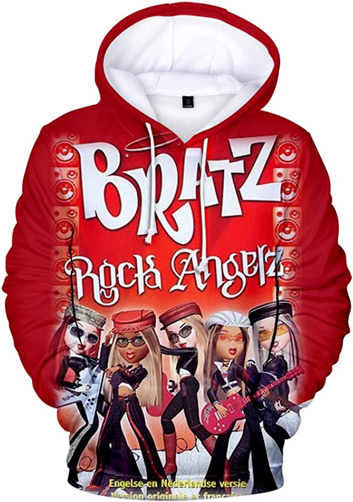 WAWNI Bratz Rock Angelz 3D Special price for a limited time Pullove Girl Sweatshirts Hoodie Women Outstanding