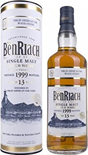 Benriach 13 Years Old Vintage 1999 Virgin American Oak Finish mit Geschenkverpackung Whisky 1 x 0.7 l