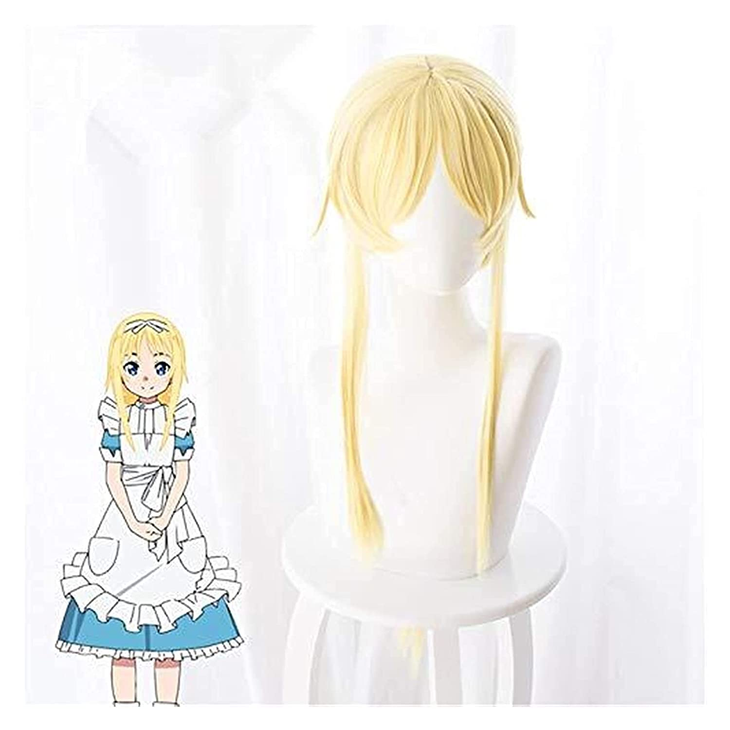 Hair caps and Beauty products wig Sword Art Sao Alice Synthes Online Alicization Nashville-Davidson Mall
