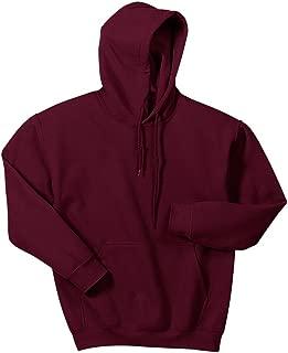 maroon hooded sweatshirt