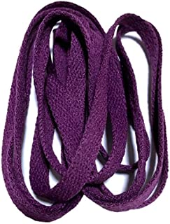 8mm Wide Flat Shoelace for Sneakers 24Colors,130Cm/51Inch